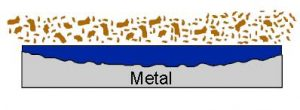 illustration of metal