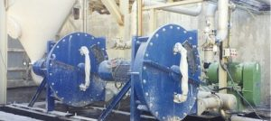 This is a photo of peristaltic hose pumps