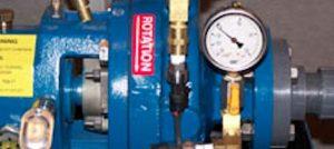 Photo of mounted gauge