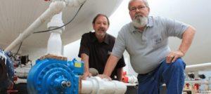 Photo of new Blackmer LGL3021 sliding vane pump at the Apex bulk plant.