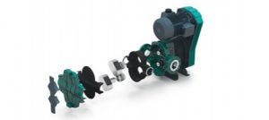Image showing breakaway rotary lobe pump