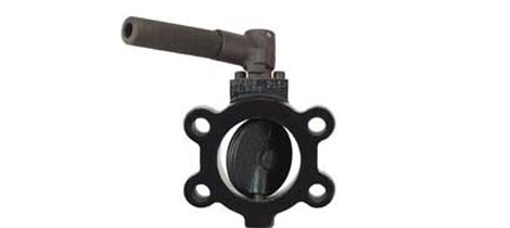 Photo of W.E. Anderson SAE butterfly valve