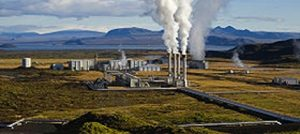 Photo of geothermal plant