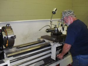 Picture of Wayne the machinist at Pump Pros