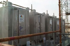 Photo of six Checkpoint Pumps Injection Systems