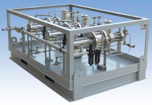 Three Pump Series 8412 High Pressure Package