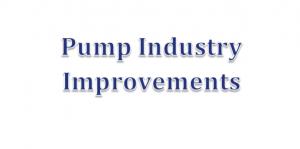 Pump Industry Improvements