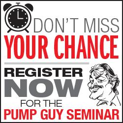 Pump Guy Seminar Register Now