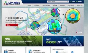 Simerics New Website