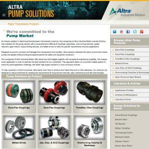 Altra Pumps Website