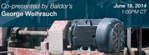 Energy Efficiency Baldor webinar