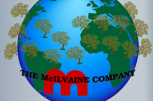McIlvaine Company world logo