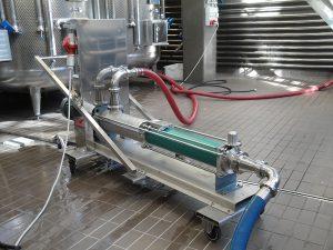 netzsch wine making pump