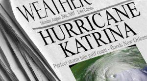 Hurricane Katrina headline