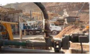 Netzsch One of the three NETZSCH NEMO® progressing cavity pumps at the mining operation