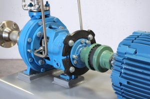 ANSI Pump with Coupling