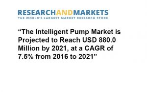 the intelligent pump market is projected to grow