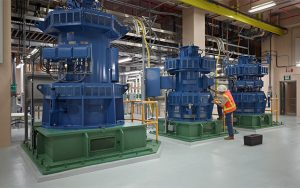 Brightwater Influent Pump Station Solves Surge Issue with WEG Custom Engineered Motors