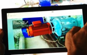 Augmented reality is one example of a productivity tool that is facilitated through the growth of IIoT technology