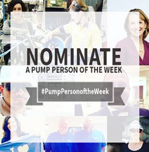 nominate a pump person of the week