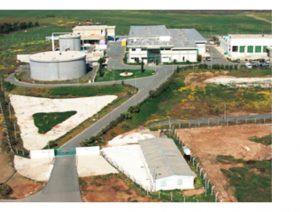 Desalination plant in Larnaca, Cyprus