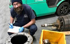 Pump Person of the Week Justin Patsey Tri-State Bearing and pumpnameplate.com
