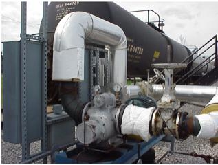 Picture 2. L2 Pump for rail car loading/unloading