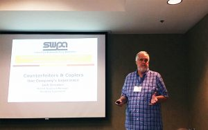 Jack presenting at the 2017 SWPA training course in Chicago, IL.