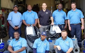 Team of Mount Pleasant Water Works in South Carolina