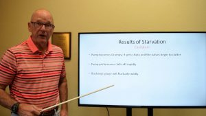 Triangle Pump Cavitation in Reciprocating Pumps