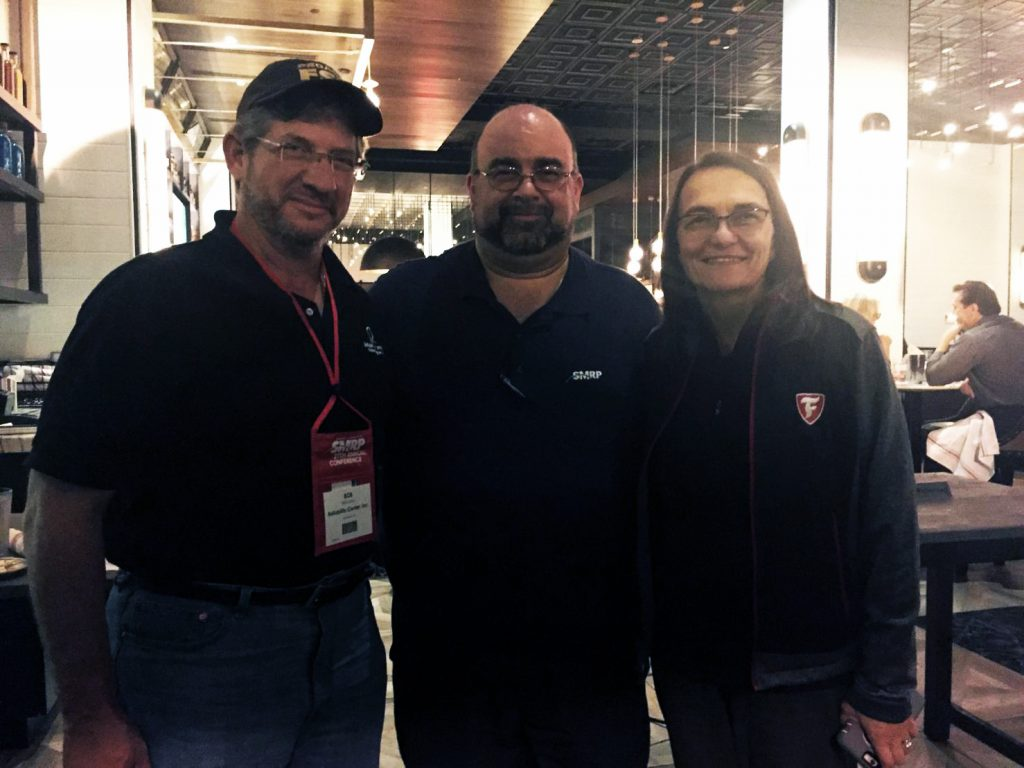 From left to right: Bob Latino, Howard Penrose, Branka Stemack at SMRP 2019