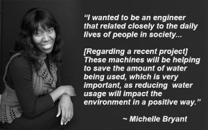 Michelle Bryant, Quality Engineer