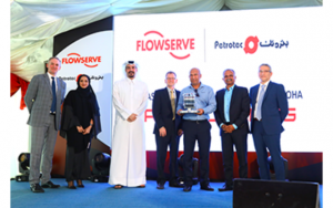 Flowserve and Petrotec representatives