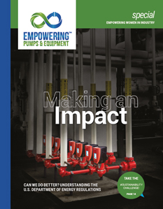 February 2020 Empowering Pumps & Equipment magazine cover image