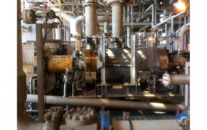 Sulzer The water injection pump rejuvenated by experts from Sulzer.