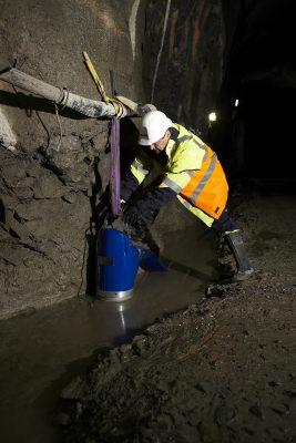 Sulzer Dewatering with Sulzer XJ drainage pump.