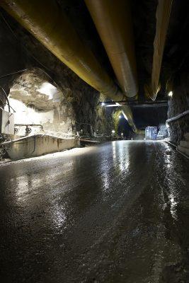 Sulzer Dewatering in Swedish tunnel project.