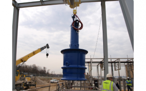 KSB Installing one of the Amacan P series pumps at Blue Plains