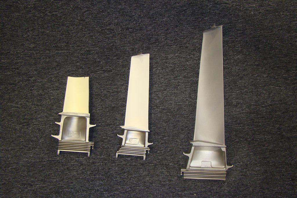 Sulzer Abradable coatings improve the efficiency of turbine blades