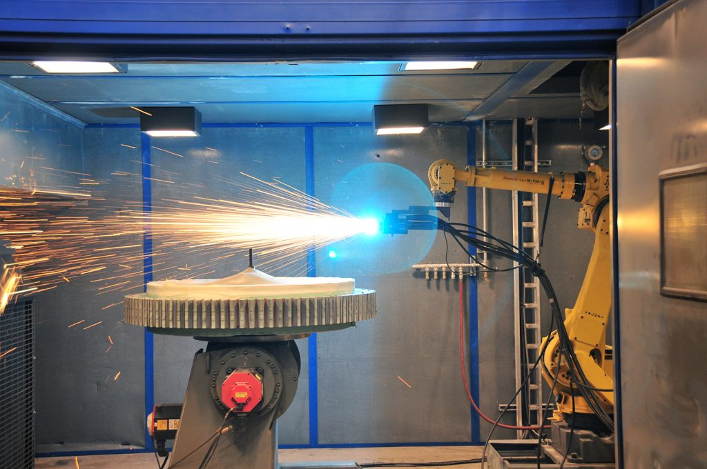 Sulzer Robotic equipment delivers a more uniform application
