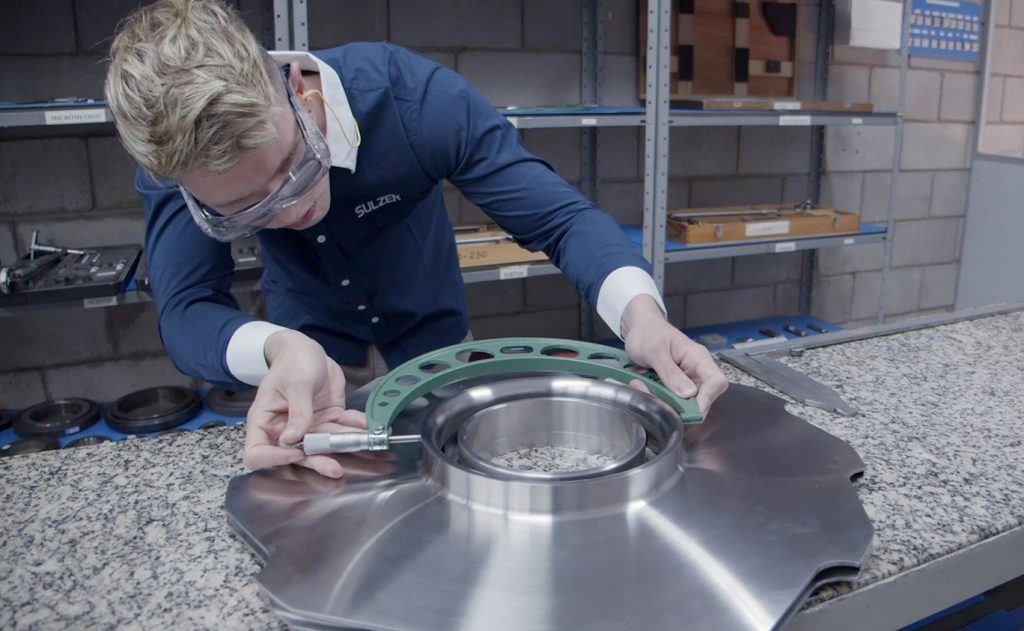 Sulzer Manufacturing new parts can optimize pump