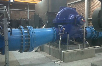 KSB The transfer pumping station
