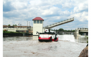 Altra Motion Single Leaf Bascule Lift Bridge
