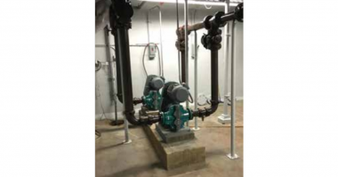 Netzsch TORNADO® T2 Rotary Lobe Pumps in the Plainwell Water Renewal facility