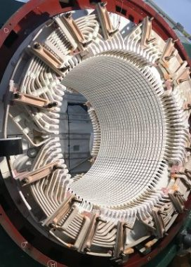 The finished stator, which weighs 2 tonnes, was returned to Karsten Moholt within six weeks.