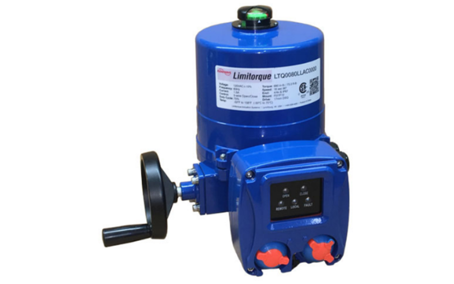 Flowserve Limitorque® LTQ Compact, Quarter-Turn Electric Actuators