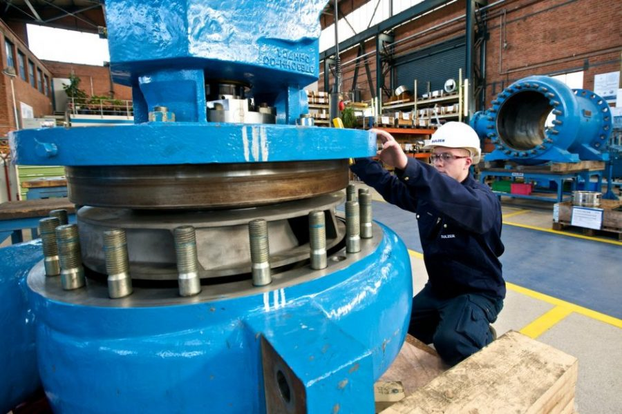 Sulzer A well-organized pump repair workshop