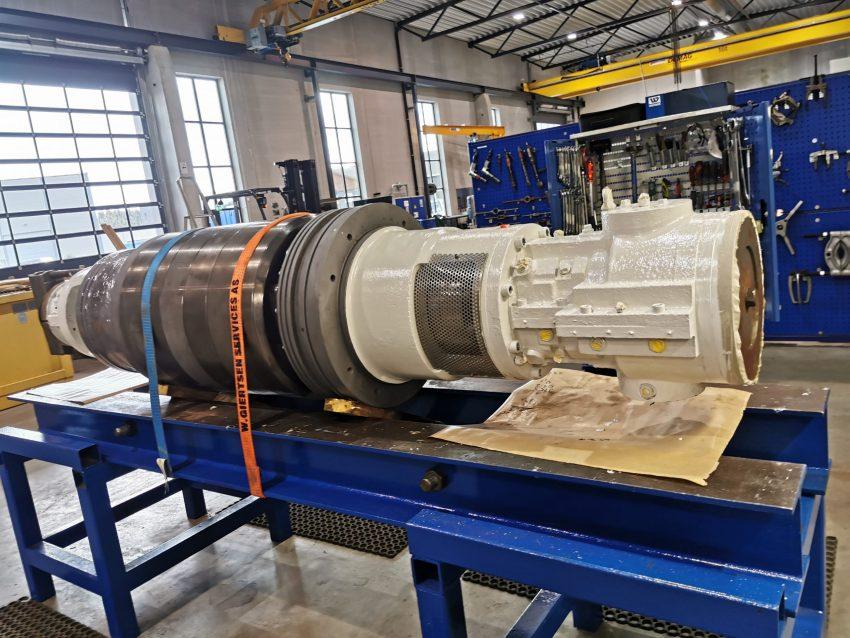 Sulzer Pic1 booster pump