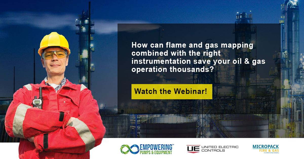 fire and gas mapping oil and gas webinar United Electric Controls MicroPack Fire & Gas Engineering