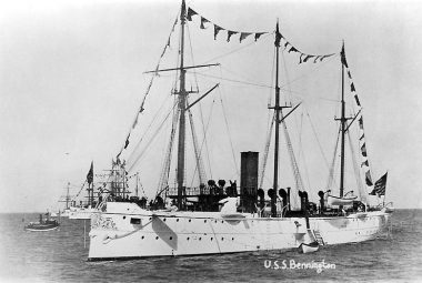 The importance of training USS-Bennington-1890